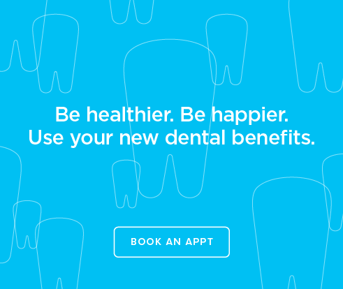 Be Heathier, Be Happier. Use your new dental benefits. - Creve Coeur Dentistry